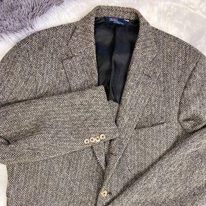 Polo Ralph Lauren Italy Herringbone Tweed Jacket